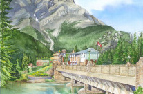 Bridge to Banff