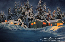 Winter on Amethyst Way